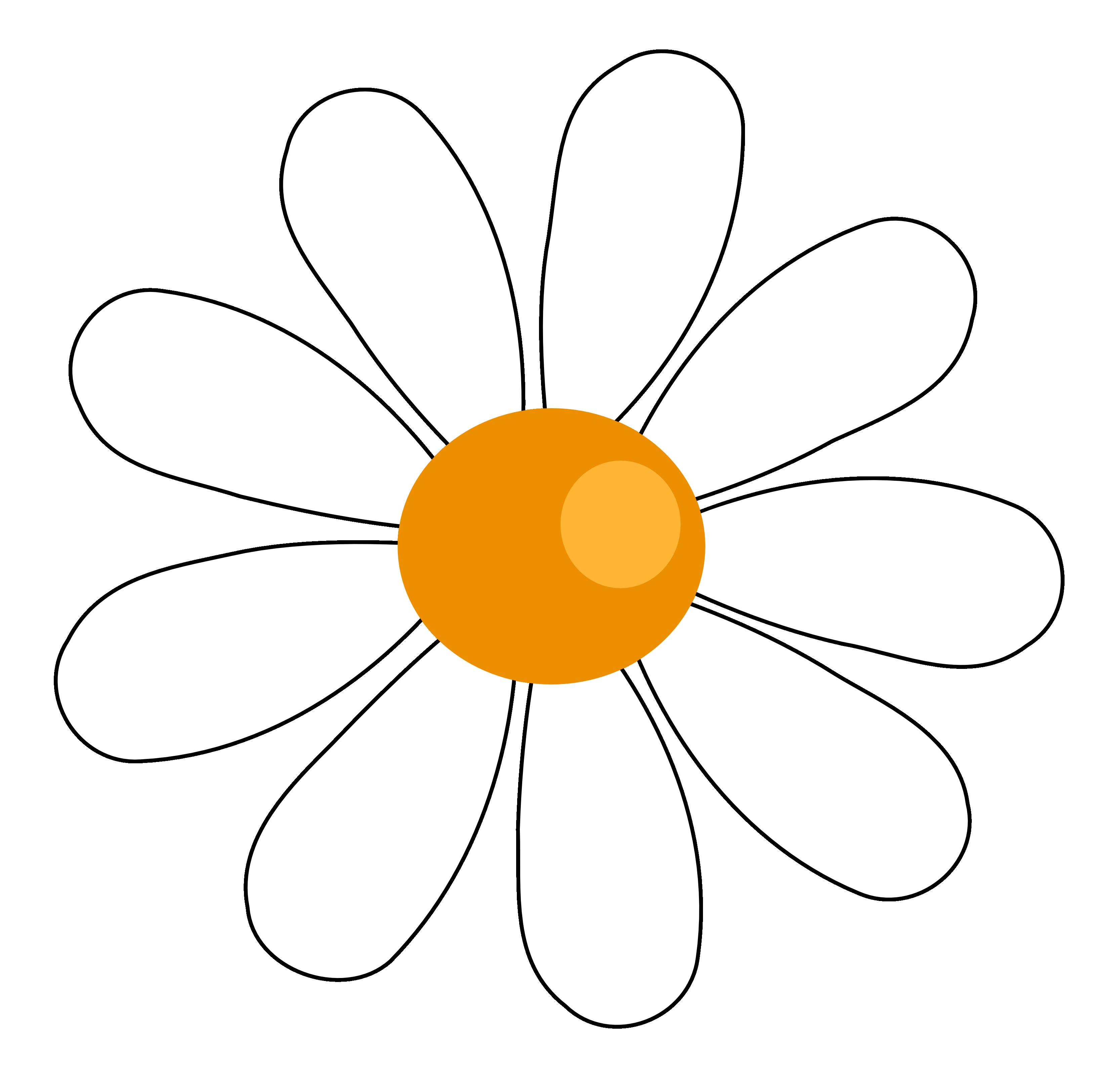 valentine daisy flower 7 SVG.