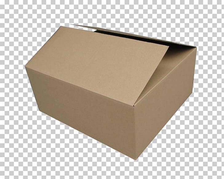 Caja de cartón de papel cartón de cartón corrugado, caja PNG.