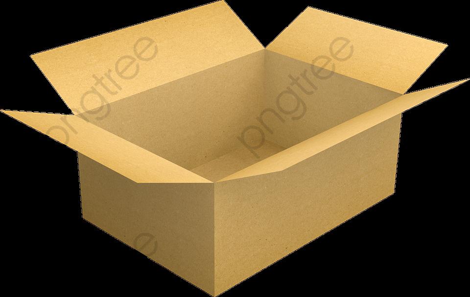 Cartoon Cardboard Boxes, Cartoon Clipart, Box, Carton PNG.