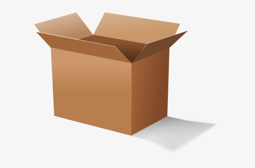 Open Cardboard Box Clip Art At Clker.