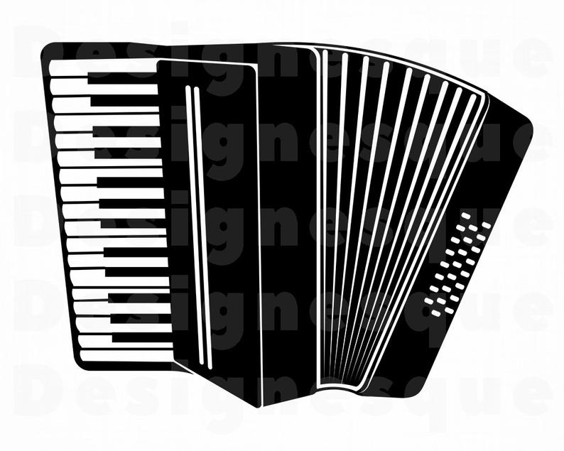Accordion 2 SVG Clipart Etsy Luxurious Clip Art Prime 7.