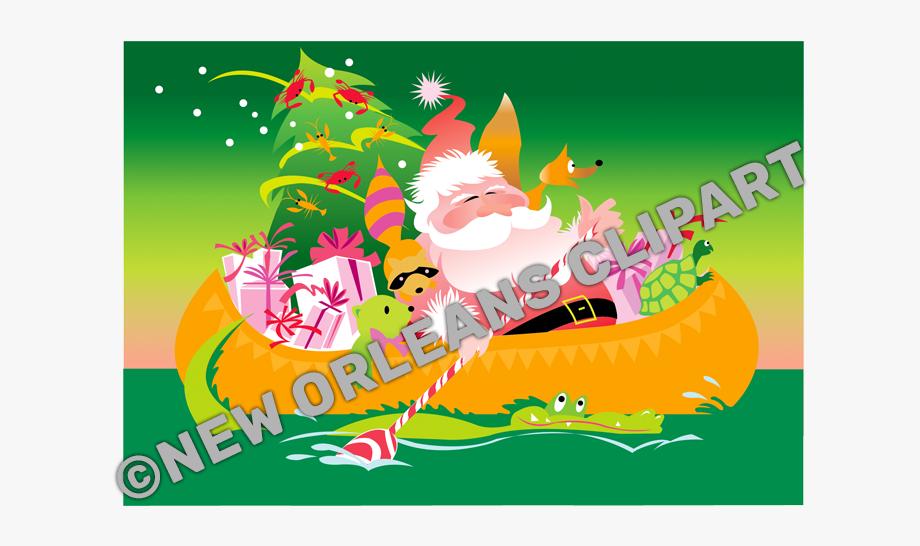 Papa Noel Cajun Christmas.