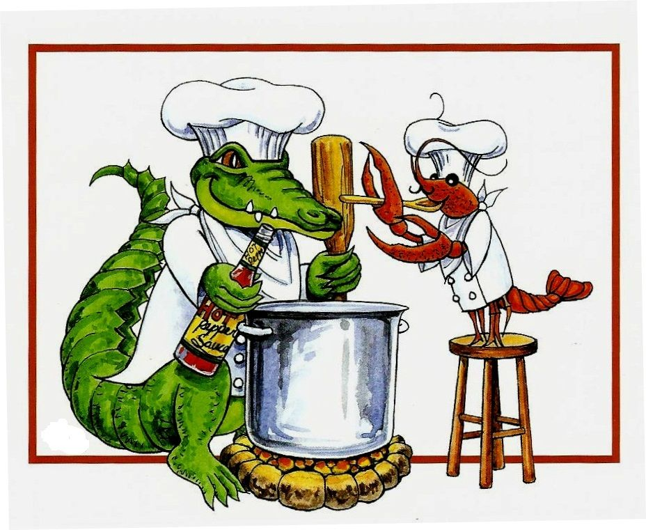 Crawfish Boil w the alligators.
