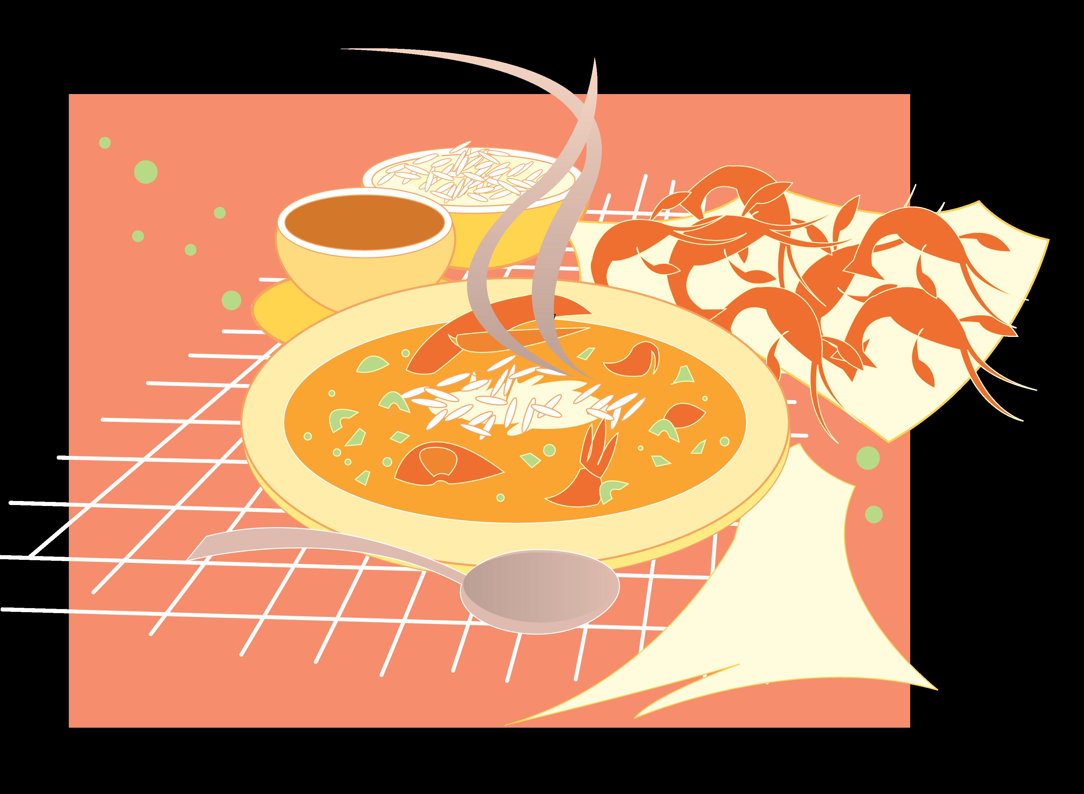 Cajun Food Clip Art.
