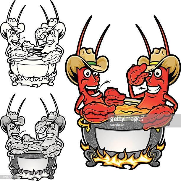 60 Top Crayfish Stock Illustrations, Clip art, Cartoons, & Icons.