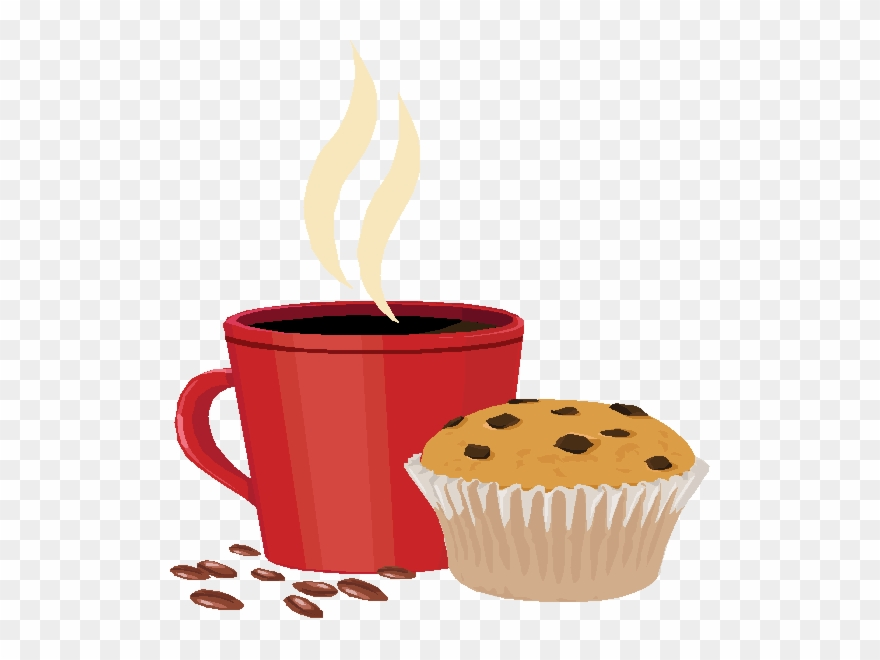 Coffee And Muffin Clipart The Red Sled History Clipart.