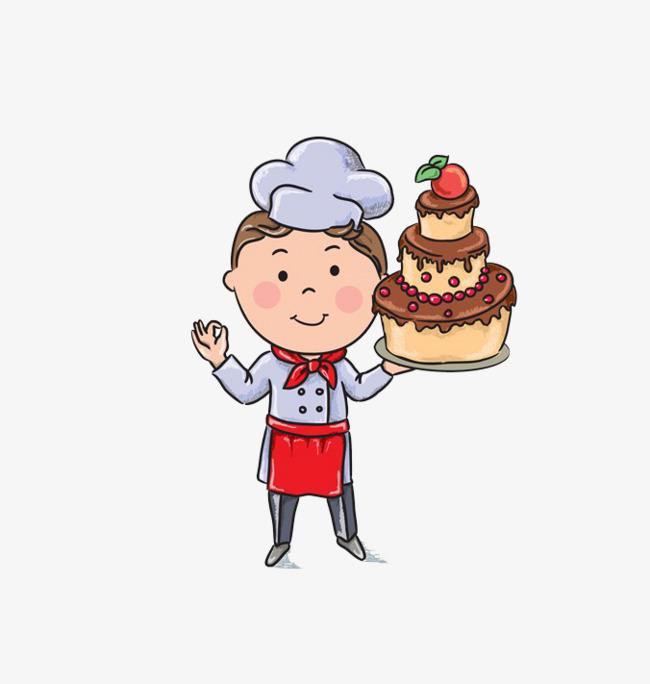 Cake clipart baker, Cake baker Transparent FREE for download.