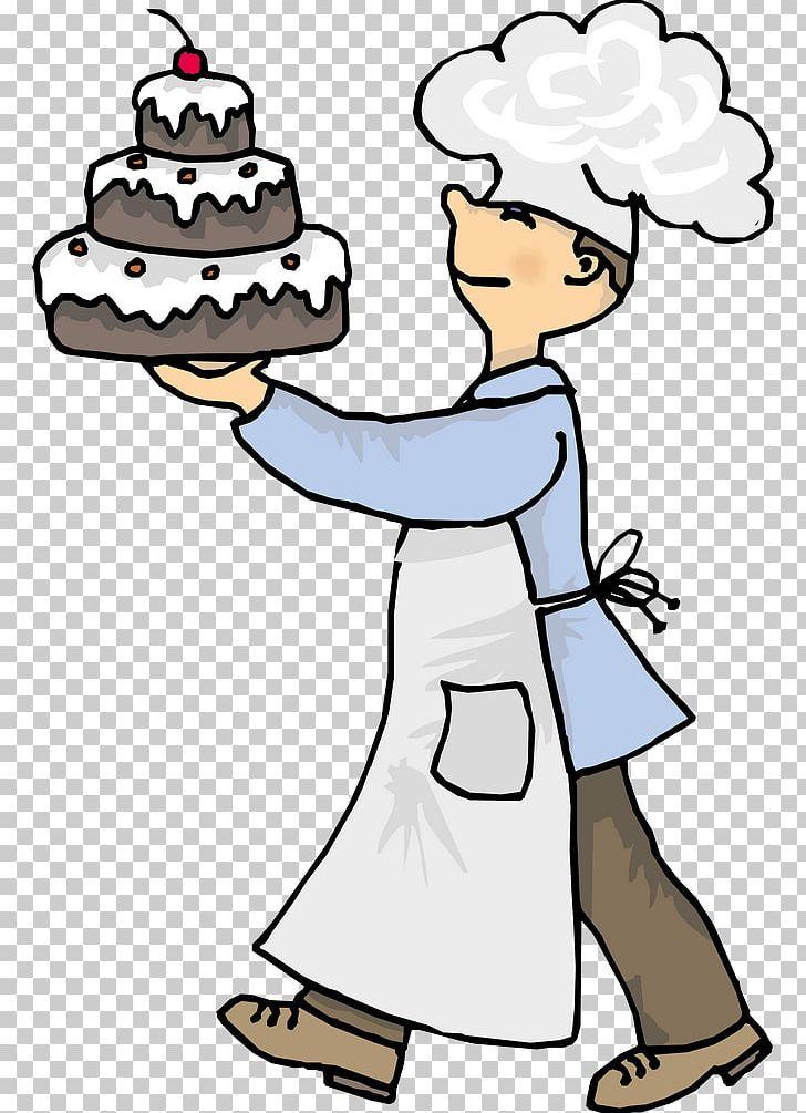 Chocolate Cake Bakery Chef PNG, Clipart, Art, Artwork, Baker.