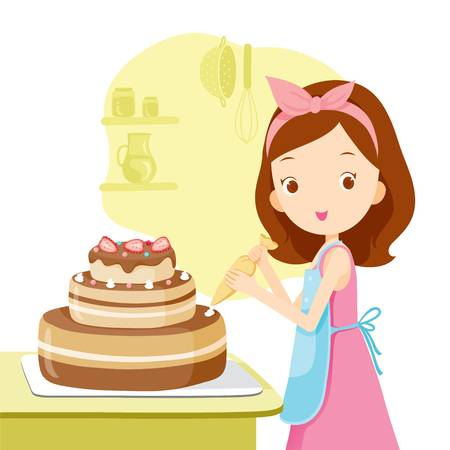 Cake decorating clipart 9 » Clipart Station.