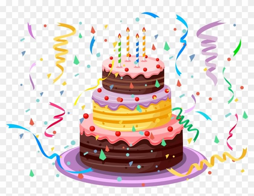 Happy birthday cake clipart transparent » Clipart Portal.