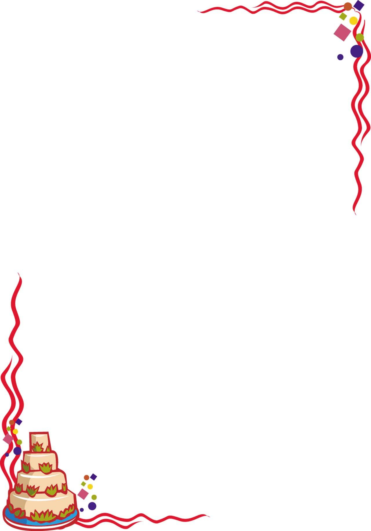 Cake clipart boarder, Cake boarder Transparent FREE for.