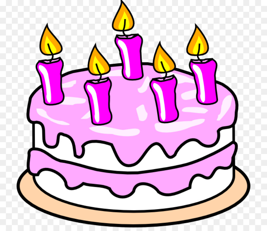 Birthday Cake Cartoon clipart.