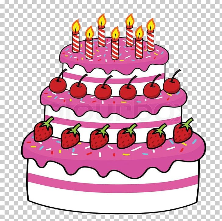 Birthday Cake Cupcake Chocolate Cake Cartoon Cakes PNG.