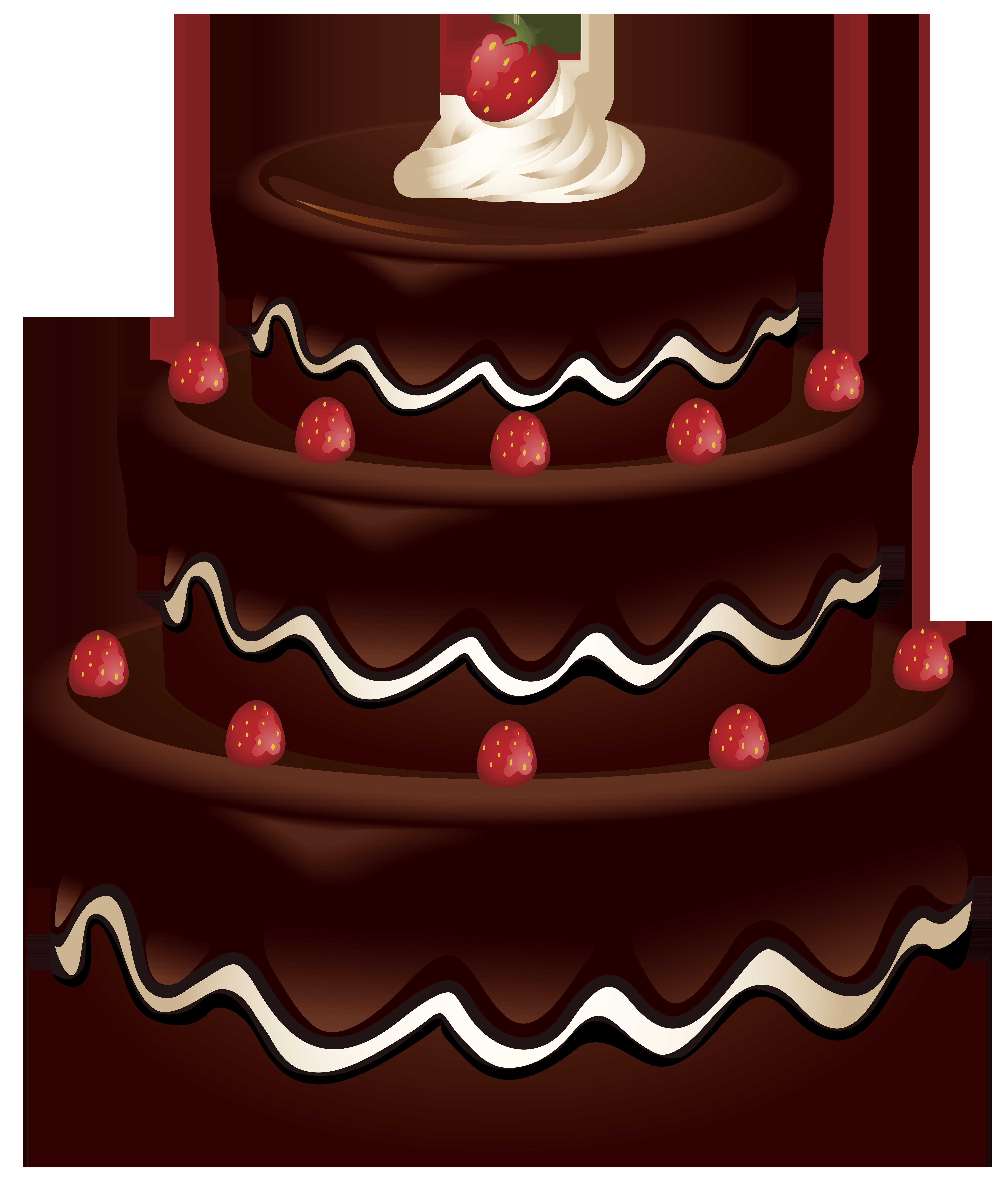 Cake Clip Art PNG Image.