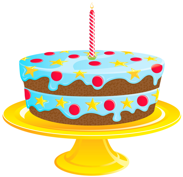 Birthday Cake Png File (+).