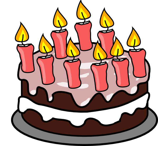 Free Birthday Cake Clip Art.