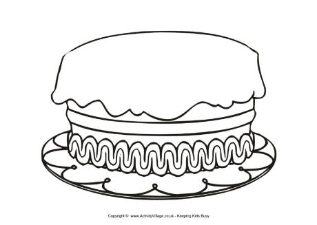 Cake Without Candles Clipart