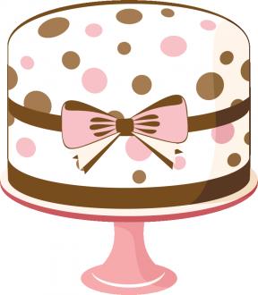 Cute Cake Clipart.