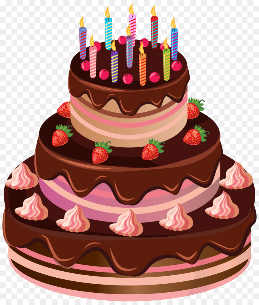 Birthday cake Clip art.