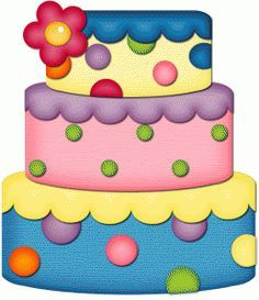 Birthday Cake Clipart Images.