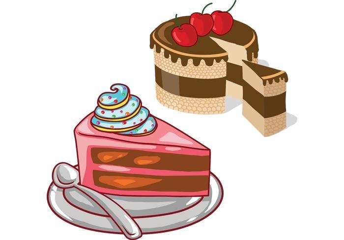 Cake Vectors.