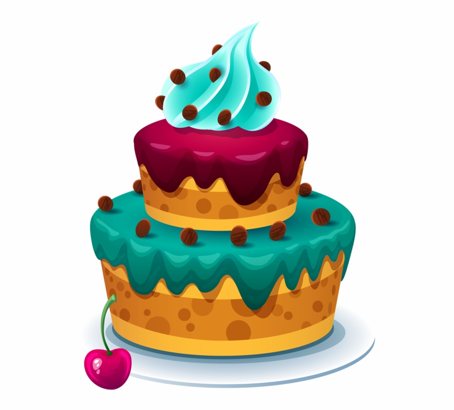 Download Free png Cake Vector, Cake Clipart, Bithday Cake.