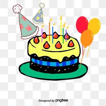 Vector Birthday Card, Birthday Clipart, Vector, Birthday PNG.
