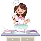 Cake Decorating Clipart.