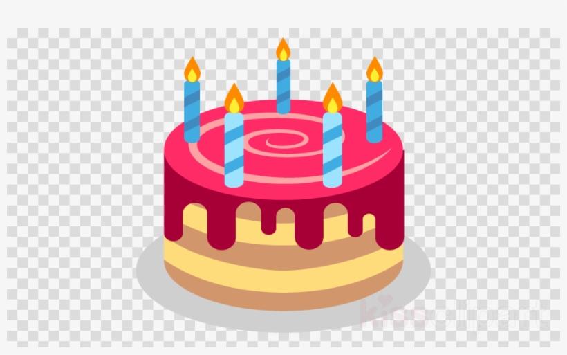 Birthday Cake Emoji Clipart Birthday Cake Emoji.
