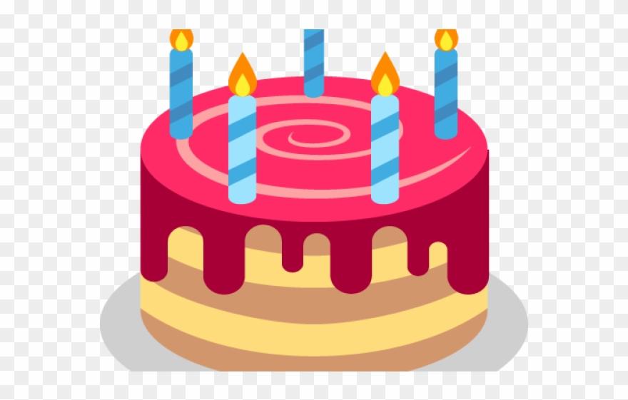 Birthday Cake Clipart Emoji.