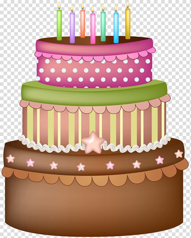 Cake illustration, Ice cream cake Birthday cake Icing.