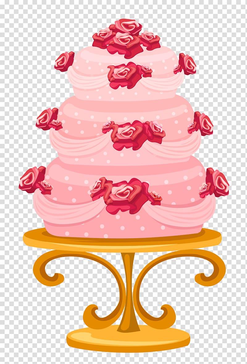 Cake illustration, Birthday cake Wedding cake Cupcake, Cake.