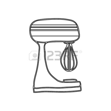 608 Cake Mixer Stock Vector Illustration And Royalty Free Cake.