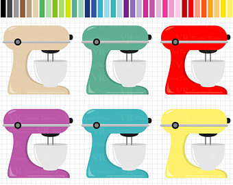 Stand mixer clipart.