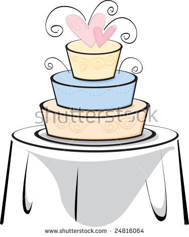 Clip Art Image White Pink Cake Stock Illustration 163909829.