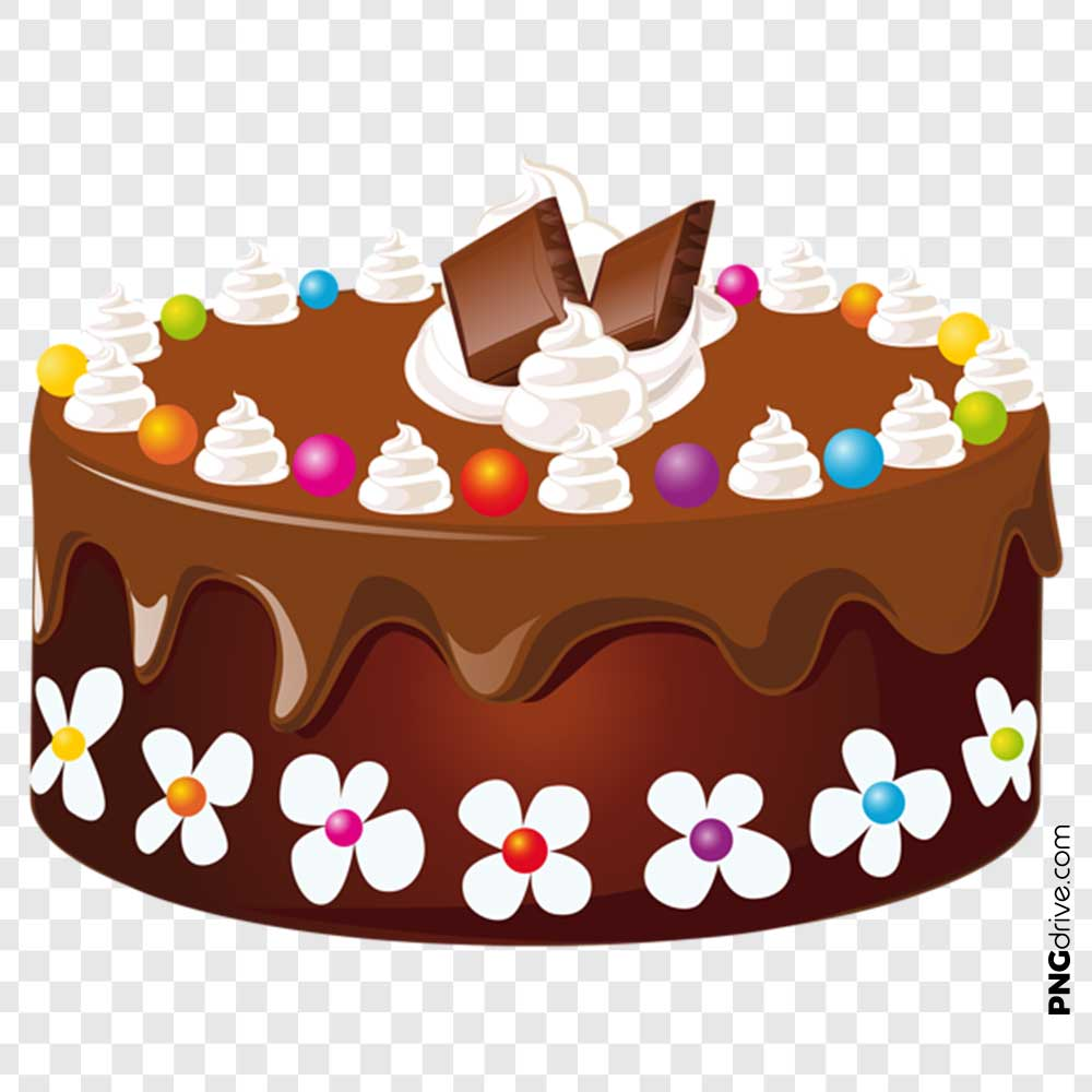 PNG Clipart Chocolate Cake PNG Image.