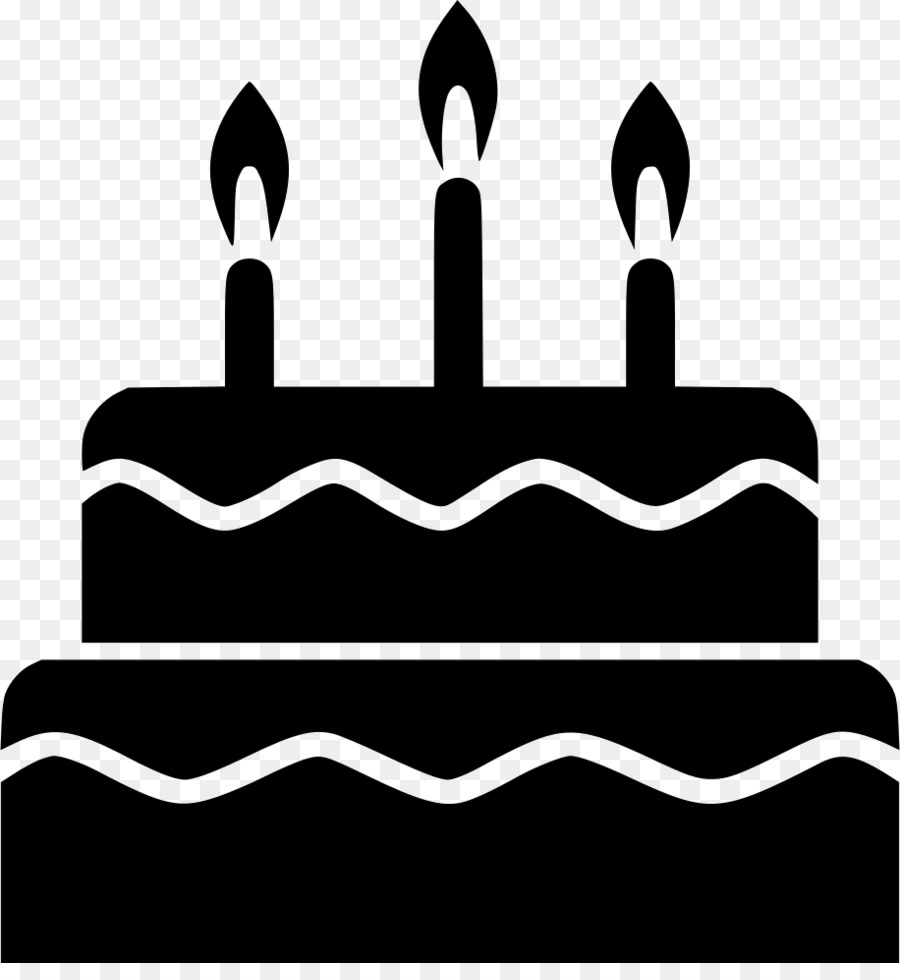 Free Birthday Cake Silhouette Png, Download Free Clip Art.
