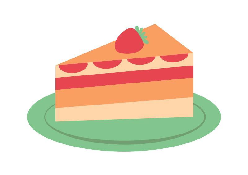 Cake slice clipart 4 » Clipart Station.