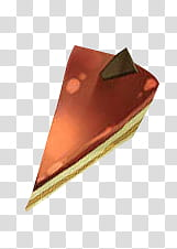 chocolate cake slice transparent background PNG clipart.