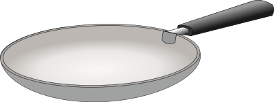Pans Clipart.