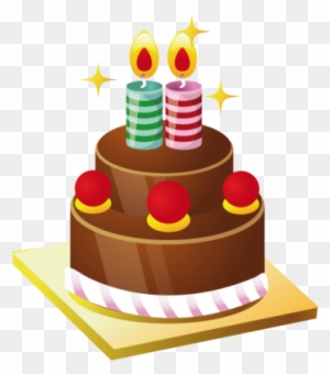 Cake With Candles Clipart, Transparent PNG Clipart Images Free.