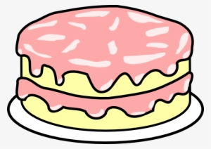 Clipart Birthday Cake With No Candles.