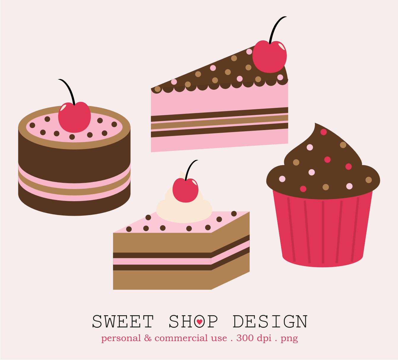 Cakes clipart.