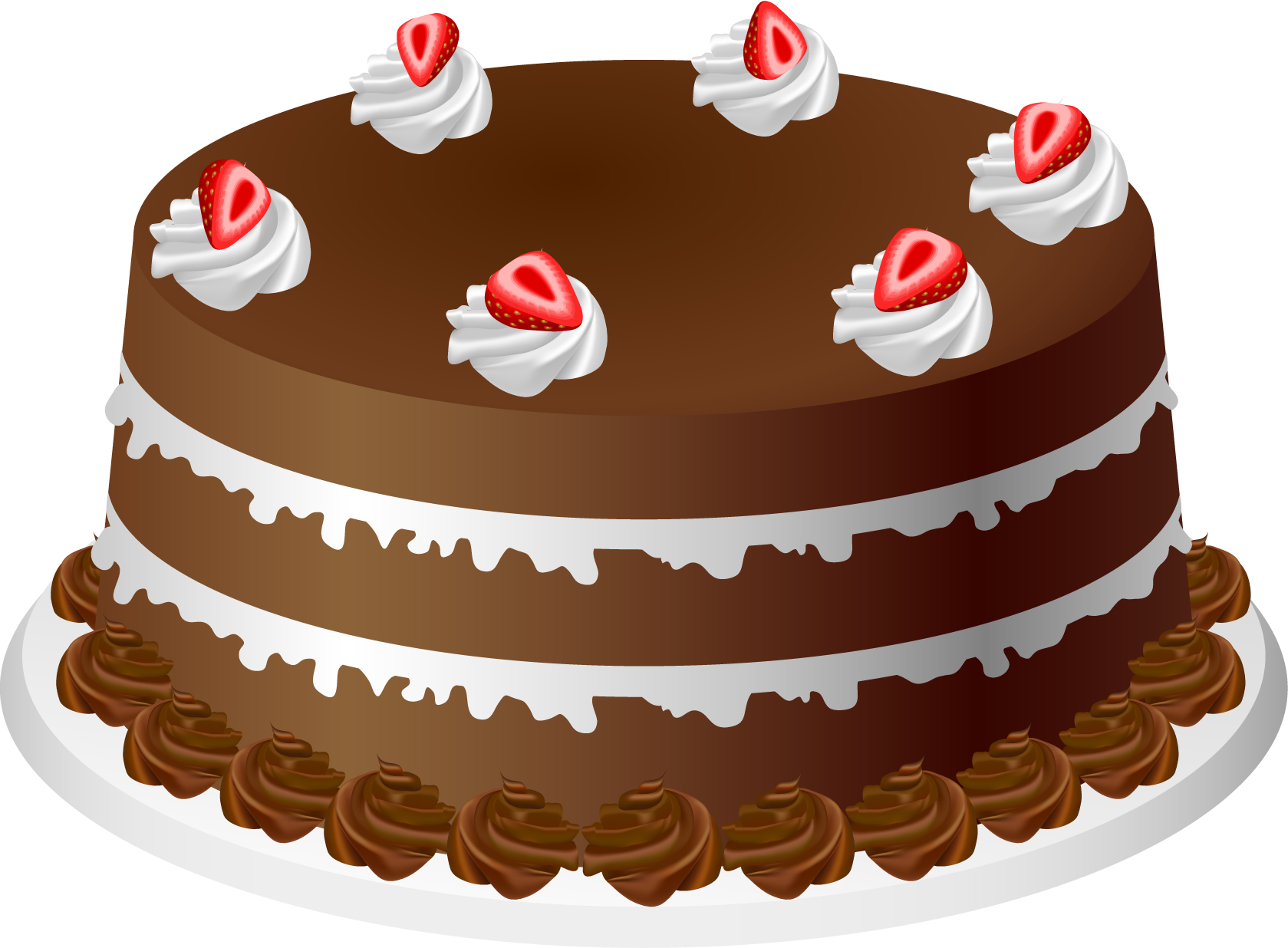 Chocolate Cake Clipart Free.
