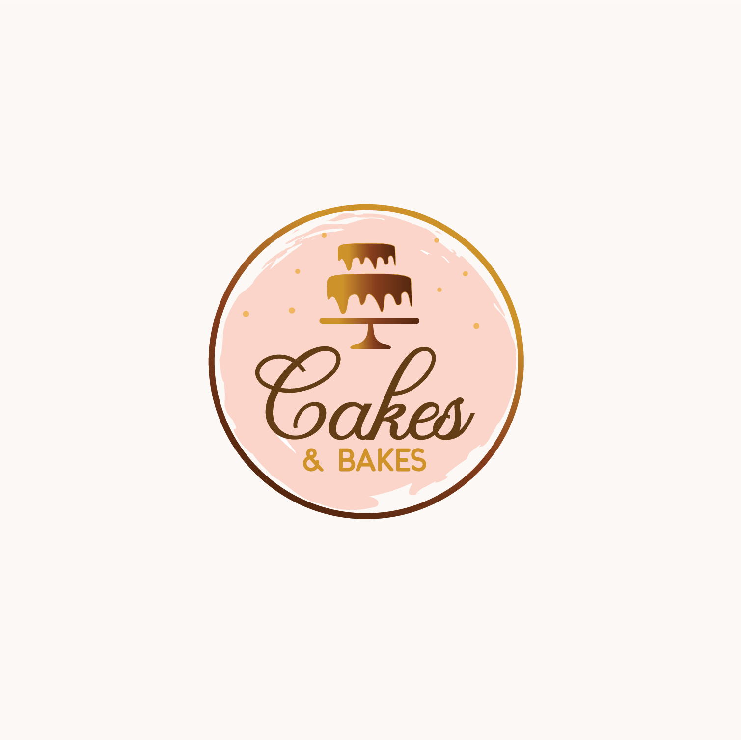 Cake Bakery Logo.