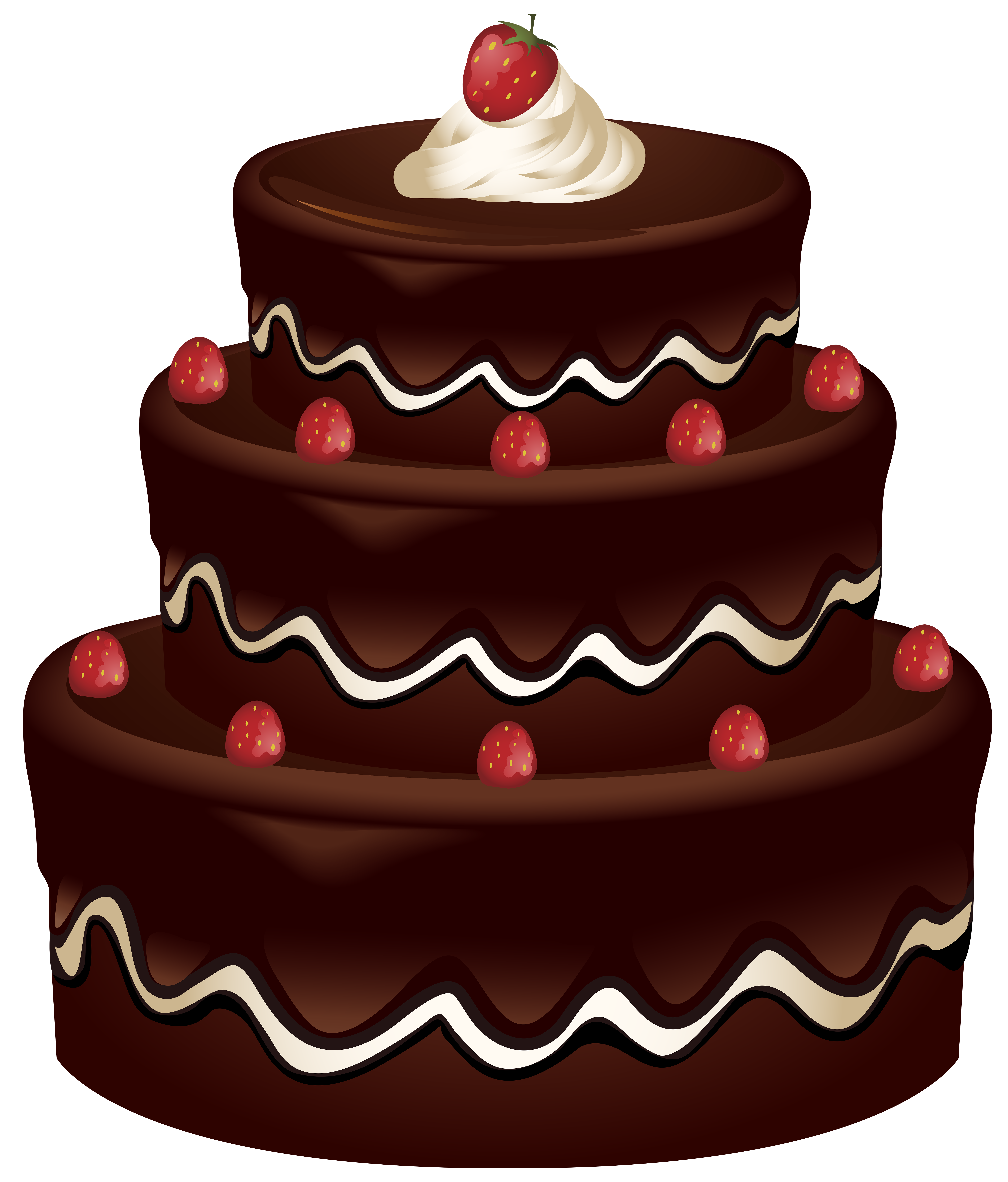 Cake Clip Art PNG Image.