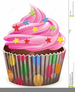 Fairy Cakes Clipart.