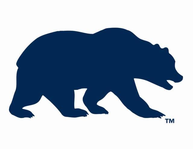 CAL BERKELEY BEAR LOGO.