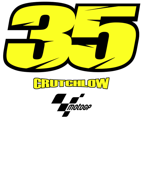 """Cal Crutchlow"""" Stickers by SKELEPUG."""