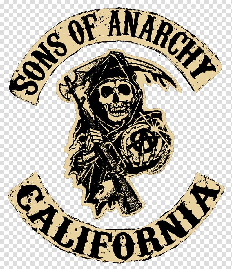 Sons of Anarchy California logo, Jax Teller Happy Television.